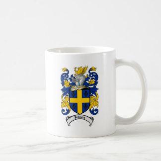 ジョンソンの家紋-紋章付き外衣 コーヒーマグカップ