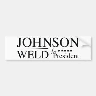 ジョンソンの溶接2016年 バンパーステッカー