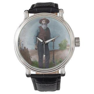 ジョンソンの腕時計を食べるレバー 腕時計