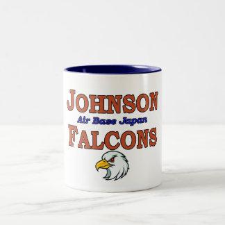 ジョンソンの航空基地の日本《鳥》ハヤブサ ツートーンマグカップ