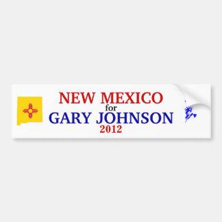 ジョンソンの2012年のステッカーのためのNM バンパーステッカー