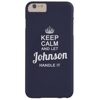 ジョンソンをそれを扱うことを許可して下さい! BARELY THERE iPhone 6 PLUS ケース