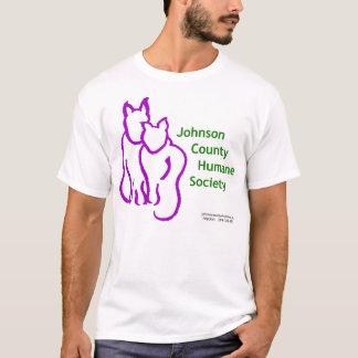 ジョンソン郡の慈悲深い社会のTシャツ Tシャツ