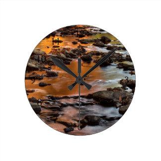 ジョンソン郡、Leawoodのトマホークの入り江 ラウンド壁時計