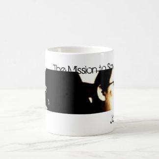 ジョンソン08のマグ コーヒーマグカップ
