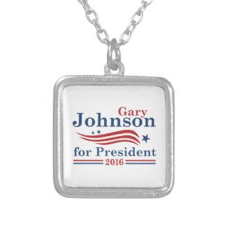 ジョンソン2016年 シルバープレートネックレス