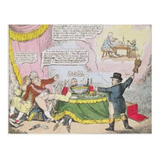 ジョンソン、ロンドン著出版されるEconomy', ポストカード