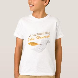 ジョンハンコック Tシャツ