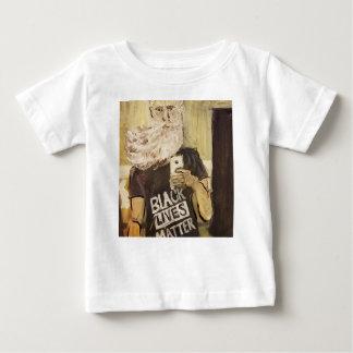 ジョンブラウンSelfieか黒い生命問題 ベビーTシャツ