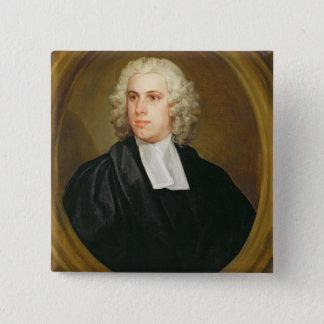 ジョンロイド、St. MildredのBroad Streetの牧師補、 5.1cm 正方形バッジ