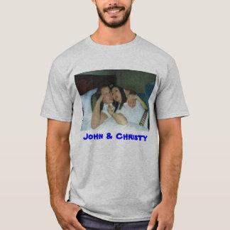 ジョン及びChristy Tシャツ