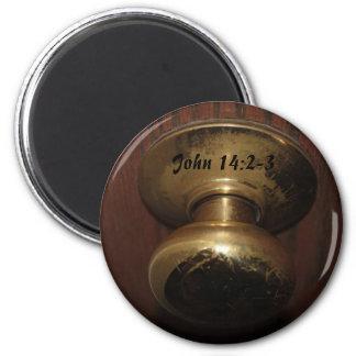 ジョン14: 2-3つのドアノブの磁石 マグネット