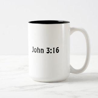 ジョン3 16 ツートーンマグカップ