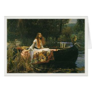 ジョン・ウィリアム・ウォーターハウスの絵画の挨拶 カード