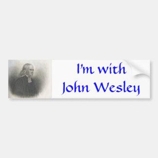 ジョン・ウェスレーのメソジスト教徒の創設者 バンパーステッカー