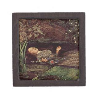 ジョン・エヴァレット・ミレーオフェリアのギフト用の箱 ギフトボックス