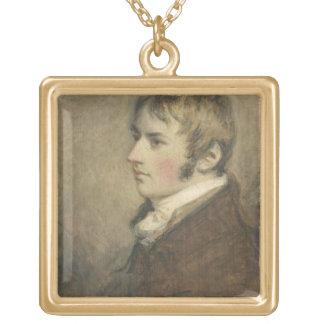 ジョン・コンスタブル(1776-1837年)のポートレートは20を老化させました ゴールドプレートネックレス
