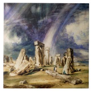 ジョン・コンスタブル- Stonehenge タイル