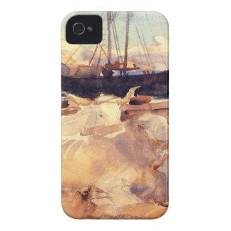 ジョン・シンガー・サージェント著Baiaのビーチのウシ Case-Mate iPhone 4 ケース