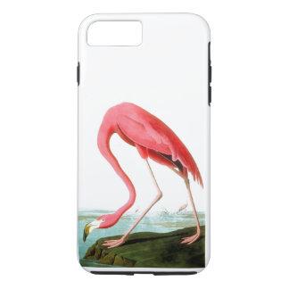 ジョン・ジェームズ・オーデュボンのアメリカのフラミンゴのヴィンテージ iPhone 8 PLUS/7 PLUSケース