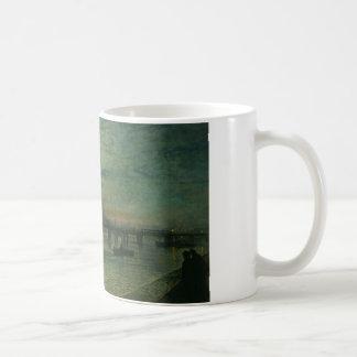 ジョンAtkinson Grimshaw著Battersea橋 コーヒーマグカップ
