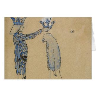 ジョンBauer -それから王子を金ゴールドの王冠置いて下さい カード
