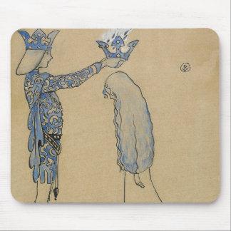 ジョンBauer -それから王子を金ゴールドの王冠置いて下さい マウスパッド