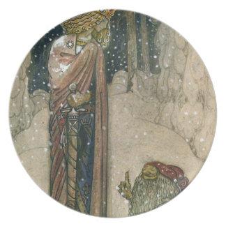 ジョンBauer -プリンセスおよびトロール プレート