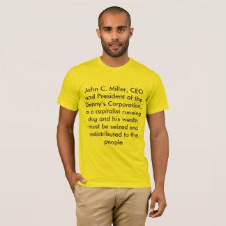 ジョンcの製粉業者 tシャツ