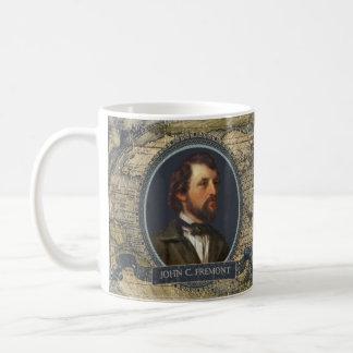 ジョンC Fremontの歴史的マグ コーヒーマグカップ