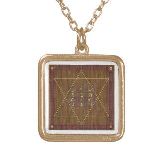 ジョンDeeの神聖なテーブルの金ゴールド終了するチェーンスタイルB ゴールドプレートネックレス