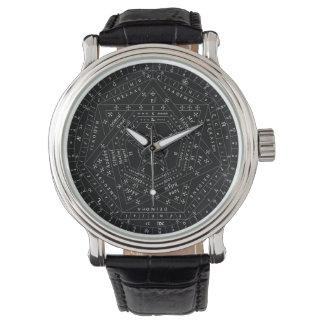 ジョンDeeの革腕時計のエリートSigilum Dei Aemeth 腕時計