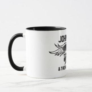 ジョンGaarの燃えるようなスカルのマグ マグカップ