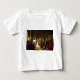 ジョンGadsbyの行商人によるPocahontasの洗礼 ベビーTシャツ