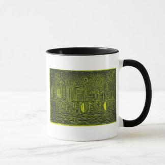 ジョンGaltのマグはだれであるかニューヨーク上の星明かりの夜… マグカップ