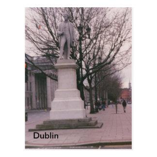 ジョンGray Monument、O'Connell St.、ダブリンの怒り ポストカード