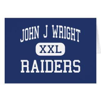 ジョンJライトの侵入者の中間のSpotsylvania グリーティングカード