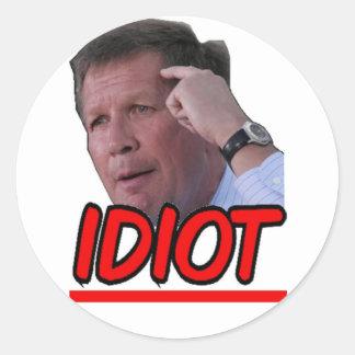 ジョンKasich -馬鹿のオハイオ州の知事 ラウンドシール
