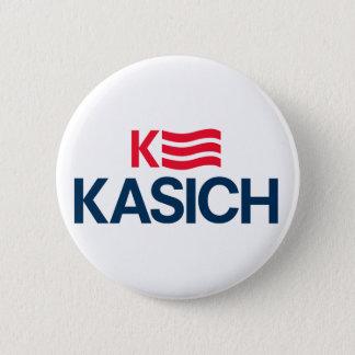 """ジョンKasich 2016のキャンペーンボタン- 2.25""""円形 5.7cm 丸型バッジ"""