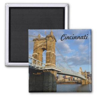 ジョンRoebling橋シンシナチの写真の磁石 マグネット