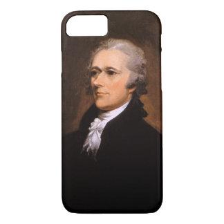 ジョンTrumbull著アレクサンダー・ハミルトンのポートレート iPhone 8/7ケース