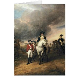 ジョンTrumbull著Yorktownの降伏 カード