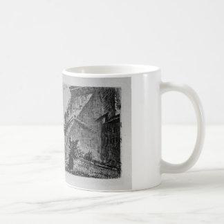 ジョヴァンニ・バッティスタ・ピラネージ著Janusの寺院 コーヒーマグカップ