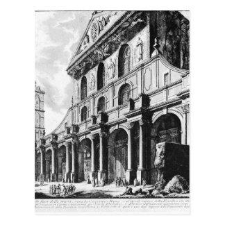 ジョヴァンニ・バッティスタ・ピラネージ著Veduteのディディミアムローマ ポストカード