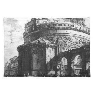 ジョヴァンニ・バッティスタ・ピラネージ著Veduteのディディミアムローマ ランチョンマット