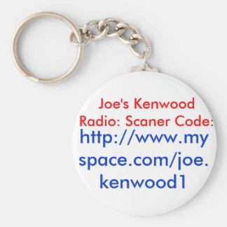 ジョーのKenwoodのラジオ: Scanerコード: 、http://www.m..。 キーホルダー