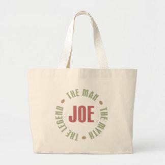 ジョーは人神話伝説ギフトをティーにのせます ラージトートバッグ
