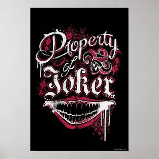 ジョーカーの自殺の分隊|の特性 ポスター
