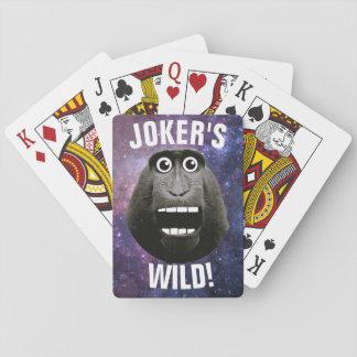 ジョーカーの野生の笑った猿 トランプ
