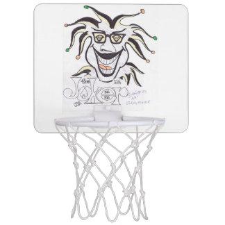 ジョーカーの顔のバスケットの球のゴール ミニバスケットボールゴール